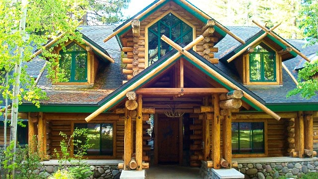 Log Cabin Build in Tahoe City & Truckee, CA