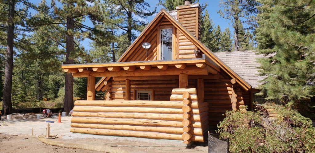 Log Home Refurbishing Amp Addition Truckee Amp Tahoe City