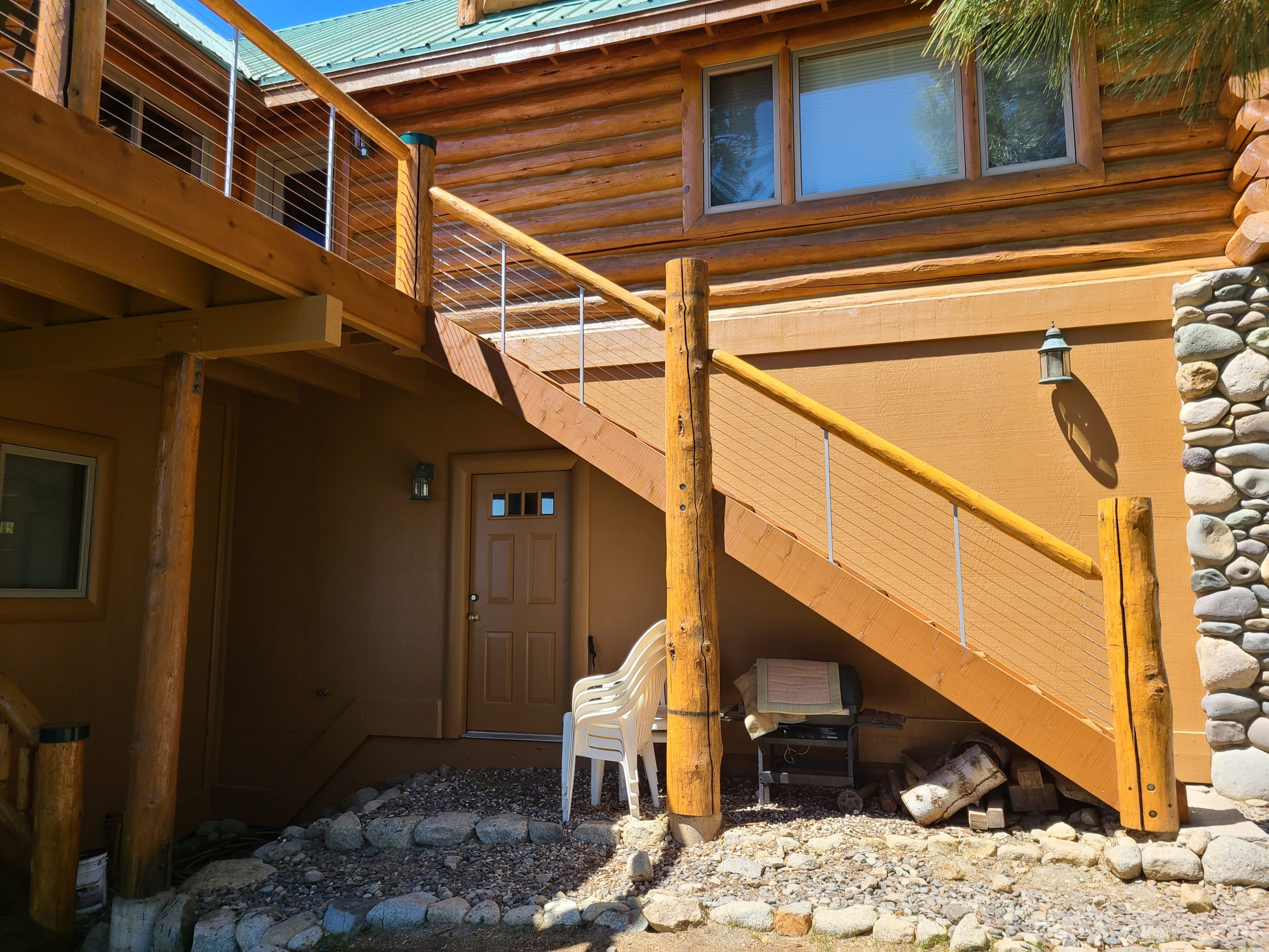 Log Deck Build - Meeks Bay